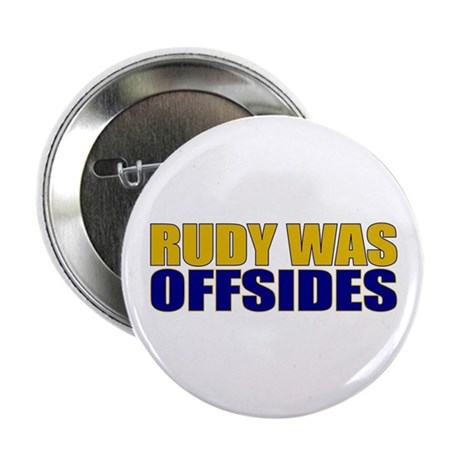 "Rudy Offsides 2.25"" Button (10 pack)"
