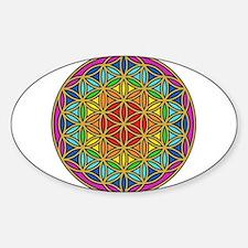 Chakra6 Sticker (Oval)