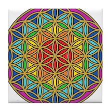 Chakra6 Tile Coaster