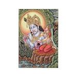 Vision of Krishna Rectangle Magnets (10 pack)