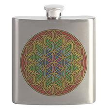 Flower of Life Chakra1 Flask