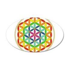 Flower of Life Chakra Wall Decal
