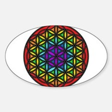 Flower of Life Chakra2 Decal
