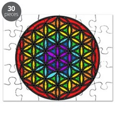 Flower of Life Chakra2 Puzzle