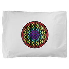 Flower of Life Chakra2 Pillow Sham
