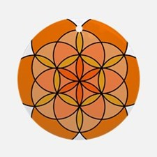 Sacral Seed of Life Round Ornament