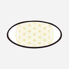 Flower of Life Gold Line Patch
