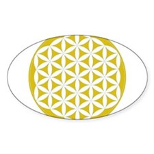 flower of life gold Stickers