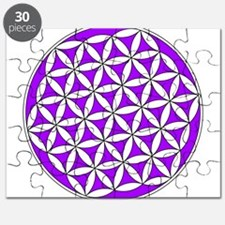 Flower of Life Purple Puzzle