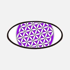 Flower of Life Purple Patch