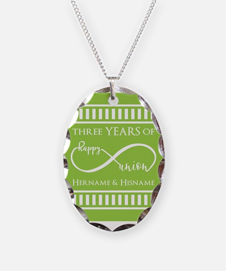 Personalized Anniversary Infin Necklace