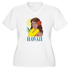 hawaii Plus Size T-Shirt