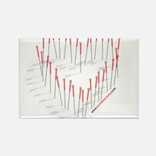 Cool Heart Rectangle Magnet
