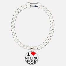 I Love Interior Design Bracelet