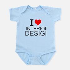 I Love Interior Design Body Suit