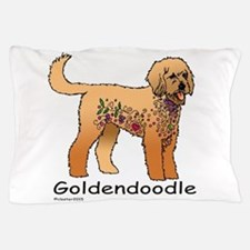 Tangle Goldendoodle Pillow Case