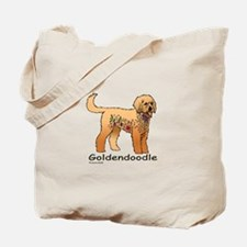 Tangle Goldendoodle Tote Bag