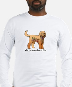 Tangle Goldendoodle Long Sleeve T-Shirt