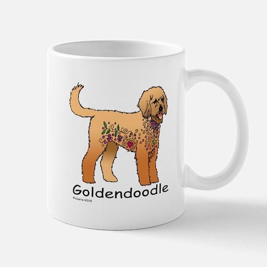 Tangle Goldendoodle Mug