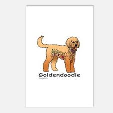 Tangle Goldendoodle Postcards (Package of 8)