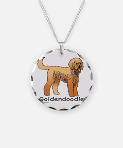 Tangle Goldendoodle Necklace