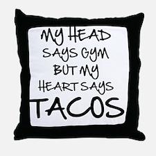 Funny Funny bodybuilding Throw Pillow