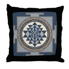 SriYantra_Uni_Lrg.jpg Throw Pillow