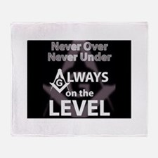 On The Level Throw Blanket