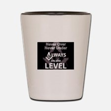 On The Level Shot Glass