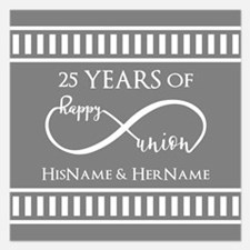 Custom Monogram Keepsake We Invitations