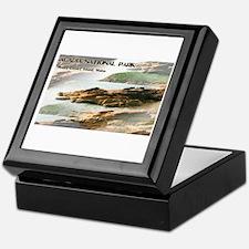 Acadia National Park Coastline Keepsake Box