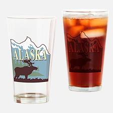 Cute Alaskan Drinking Glass