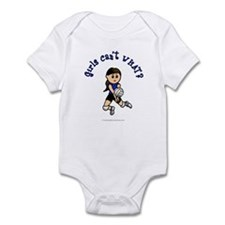 Light Blue Volleyball Infant Bodysuit