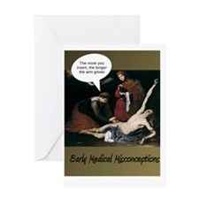 Funny Fun and whimsical art Greeting Card