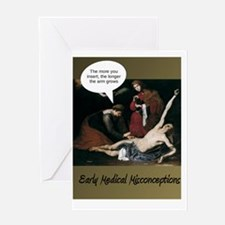 Funny Funny nurse Greeting Card