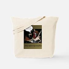 Cute Dark humor Tote Bag