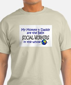 Best Social Workers In The World T-Shirt