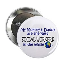 Best Social Workers In The World Button