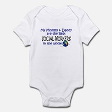 Best Social Workers In The World Infant Bodysuit