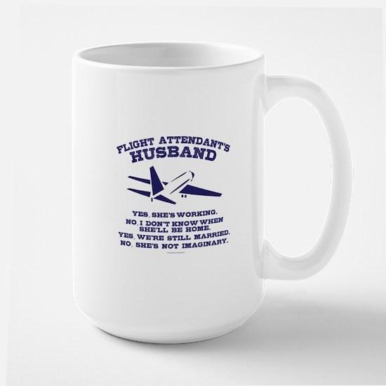 Flight Attendant's Husband Mugs