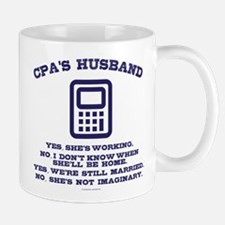 CPA's Husband Mugs