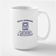 CPA's Husband Mugs