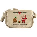 Funny Thanksgiving Messenger Bag
