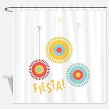 Fiesta Cinco De Mayo Shower Curtain