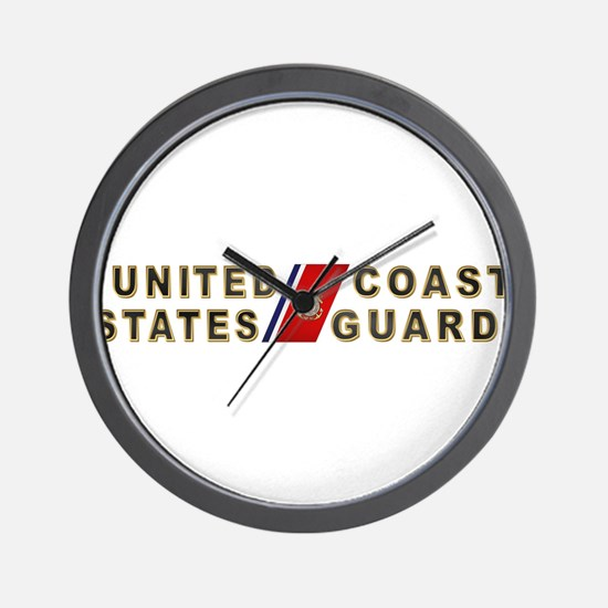 uscg_x.png Wall Clock