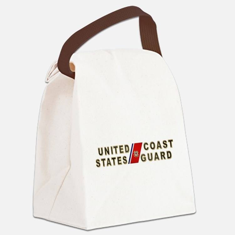 uscg_x.png Canvas Lunch Bag
