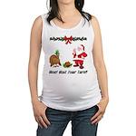 Funny Thanksgiving Maternity Tank Top