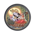 Vision of Krishna Wall Clock