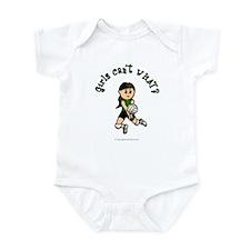 Light Green Volleyball Infant Bodysuit