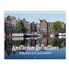 Amsterdam Reflections Wall Calendar